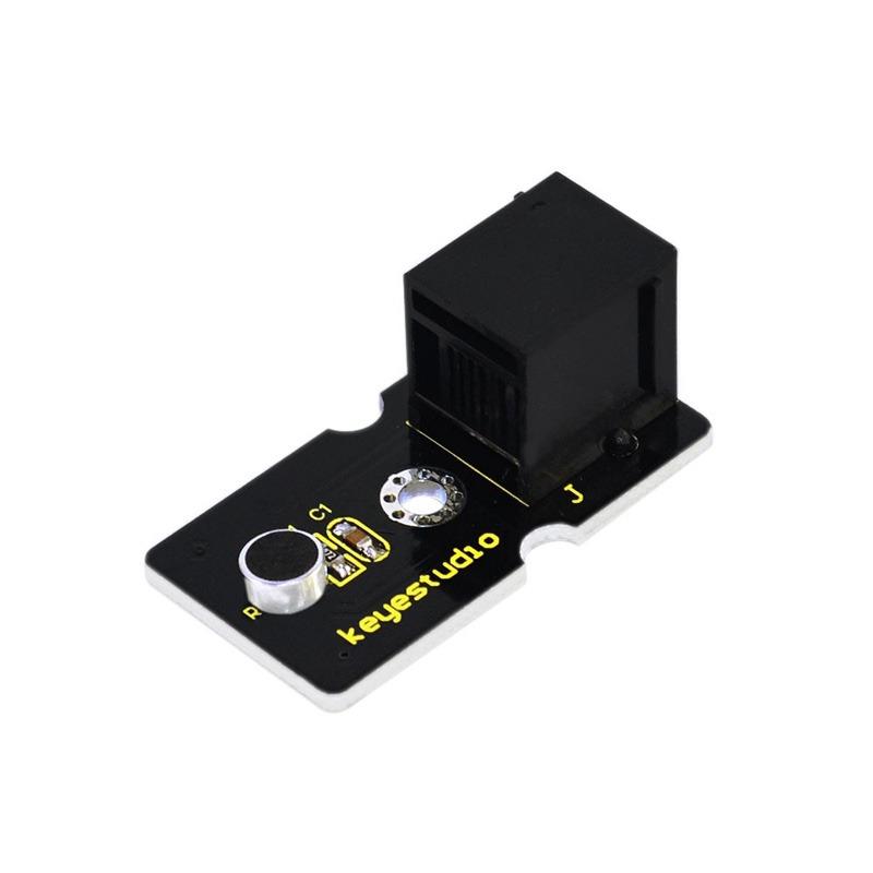 Módulo Sensor De Som Analógico Para Arduino Ligação Easy Keyestudio